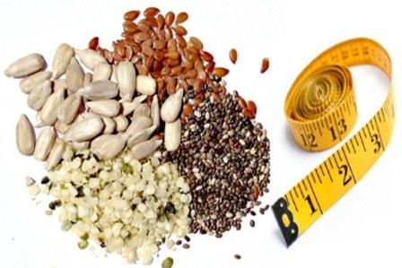 ۴ دانه مفید برای کاهش وزن