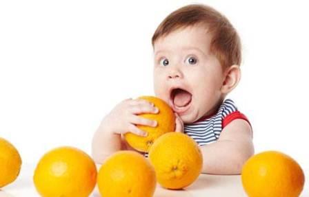 فواید خوردن پرتقال برای کودک