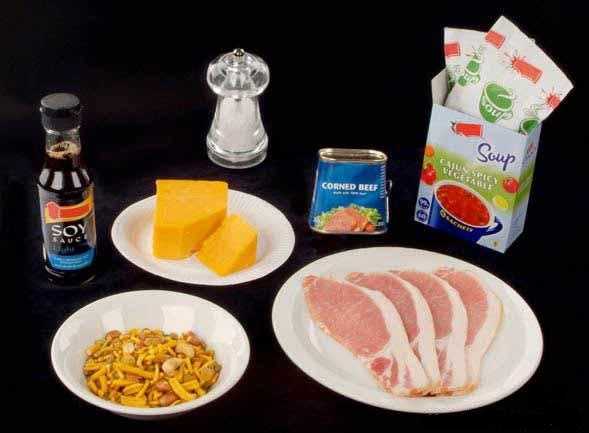 غذاهایی که تصور نمی کنید بیشترین میزان سدیم را دارند