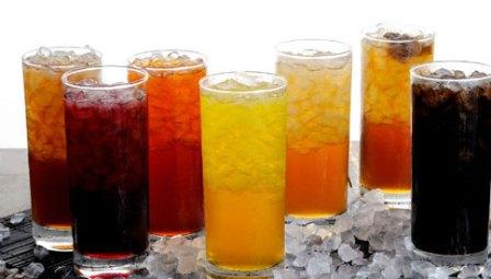 خطرات مصرف نوشیدنی های گازدار
