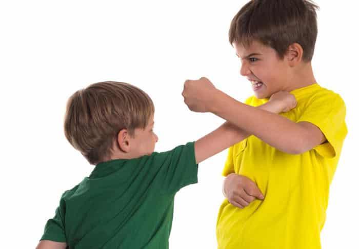 کنترل دعوای میان کودکان