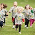 میزان ورزش کودکان در روز