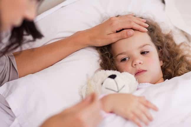 ۵ درمان ساده سرماخوردگی کودکان