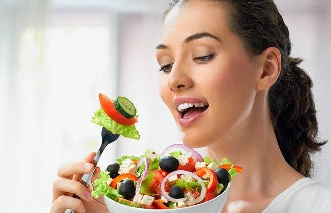 رژیم غذایی روزانه برای زنان