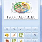محاسبه کالری غذای روزانه ( میزان کالری دریافتی روزانه )