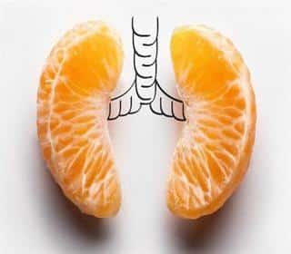 برای پاکسازی ریه ها ۱۱ گام غذایی بردارید