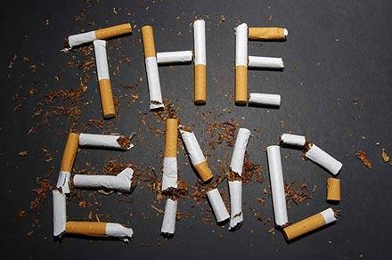 برای ترک سیگار