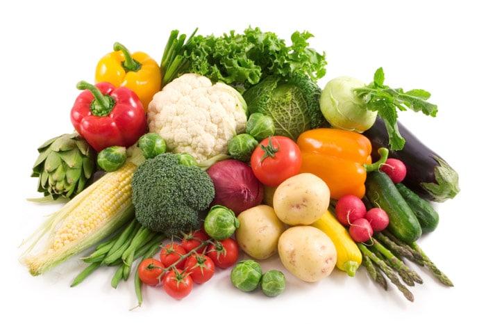 لیست رژیم گیاهخواری