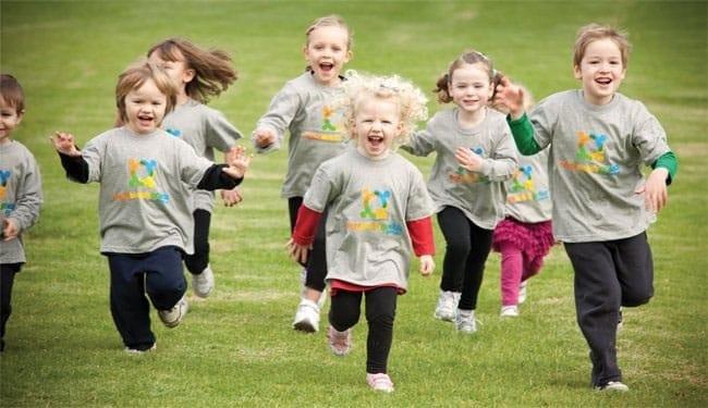 میزان ورزش کودکان