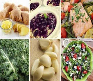 برای پیشگیری از التهاب ده ماده غذایی مورد علاقه متخصصان تغذیه را مصرف کنید